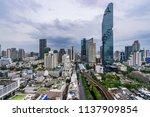 urban cityscape in metropolis... | Shutterstock . vector #1137909854