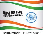 india flag   independence day...   Shutterstock .eps vector #1137916304