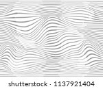 warped lines.waved lines.lined... | Shutterstock . vector #1137921404