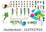 isometrics create your athlete  ... | Shutterstock .eps vector #1137927914
