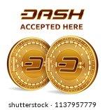 dash. accepted sign emblem....   Shutterstock .eps vector #1137957779