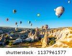 cappadocia  turkey   july 05 ... | Shutterstock . vector #1137961577