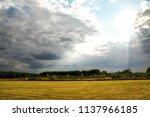 a relaxing and beautiful summer ...   Shutterstock . vector #1137966185