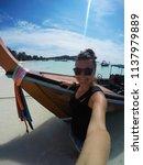 travel summer holiday concept... | Shutterstock . vector #1137979889