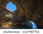 a view inside the stunning... | Shutterstock . vector #1137987701