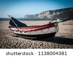 boats on the beach | Shutterstock . vector #1138004381