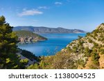 beautiful view of the coast of... | Shutterstock . vector #1138004525