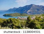 beautiful view of the coast of... | Shutterstock . vector #1138004531