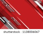 red abstract background design... | Shutterstock .eps vector #1138006067