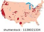 map wine usa | Shutterstock .eps vector #1138021334
