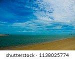 dhanushkodi is an abandoned... | Shutterstock . vector #1138025774
