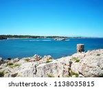 landscape of the beach in l... | Shutterstock . vector #1138035815