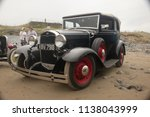 30th june 2018  a vintage ford... | Shutterstock . vector #1138043999