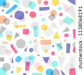 abstract geometric modern...   Shutterstock .eps vector #1138068191