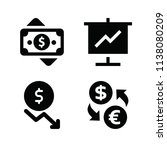 filled business icon set such... | Shutterstock .eps vector #1138080209