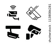 filled security icon set such... | Shutterstock .eps vector #1138086281