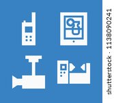 simple set of technology vector ... | Shutterstock .eps vector #1138090241