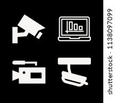 filled technology icon set such ... | Shutterstock .eps vector #1138097099