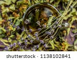 cup of tea lavender provence... | Shutterstock . vector #1138102841
