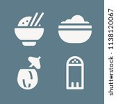 food icon set   filled... | Shutterstock . vector #1138120067