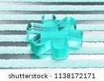 transparent aqua multiply icon...