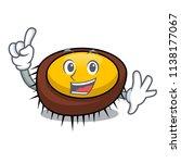 finger sea urchin mascot cartoon | Shutterstock .eps vector #1138177067