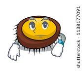 waiting sea urchin mascot... | Shutterstock .eps vector #1138177091