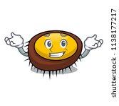 grinning sea urchin character... | Shutterstock .eps vector #1138177217