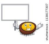 bring board sea urchin... | Shutterstock .eps vector #1138177307