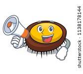 with megaphone sea urchin... | Shutterstock .eps vector #1138178144