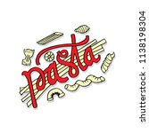 Pasta Hand Lettering With...
