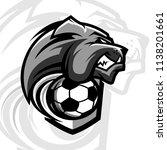 football bulldog team logo   Shutterstock .eps vector #1138201661