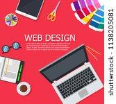 design web interface website...