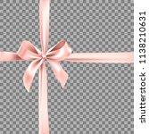 pink ribbon element   Shutterstock .eps vector #1138210631
