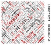 vector conceptual training ... | Shutterstock .eps vector #1138220897