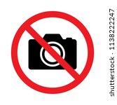 no photography  no camera sign  ...   Shutterstock .eps vector #1138222247