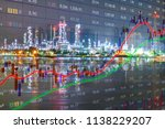 oil is a major energy fuel of... | Shutterstock . vector #1138229207