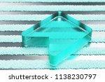 transparent aqua bookmark icon...