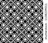 vector modern tiles pattern.... | Shutterstock .eps vector #1138239011