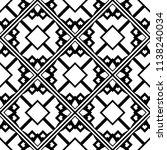 vector modern tiles pattern.... | Shutterstock .eps vector #1138240034