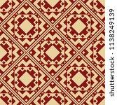 vector modern tiles pattern.... | Shutterstock .eps vector #1138249139