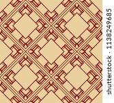 vector modern tiles pattern.... | Shutterstock .eps vector #1138249685