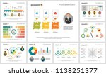 colorful accounting or... | Shutterstock .eps vector #1138251377