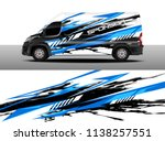 cargo van decal designs  truck... | Shutterstock .eps vector #1138257551
