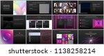 minimal presentations ... | Shutterstock .eps vector #1138258214