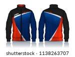 jacket design sportswear track...   Shutterstock .eps vector #1138263707