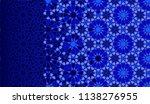 tile repeating vector border.... | Shutterstock .eps vector #1138276955