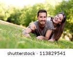 Couple Outdoors Enjoying A...
