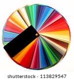 color palette guide for... | Shutterstock . vector #113829547