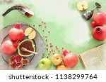 watercolor style and abstract... | Shutterstock . vector #1138299764